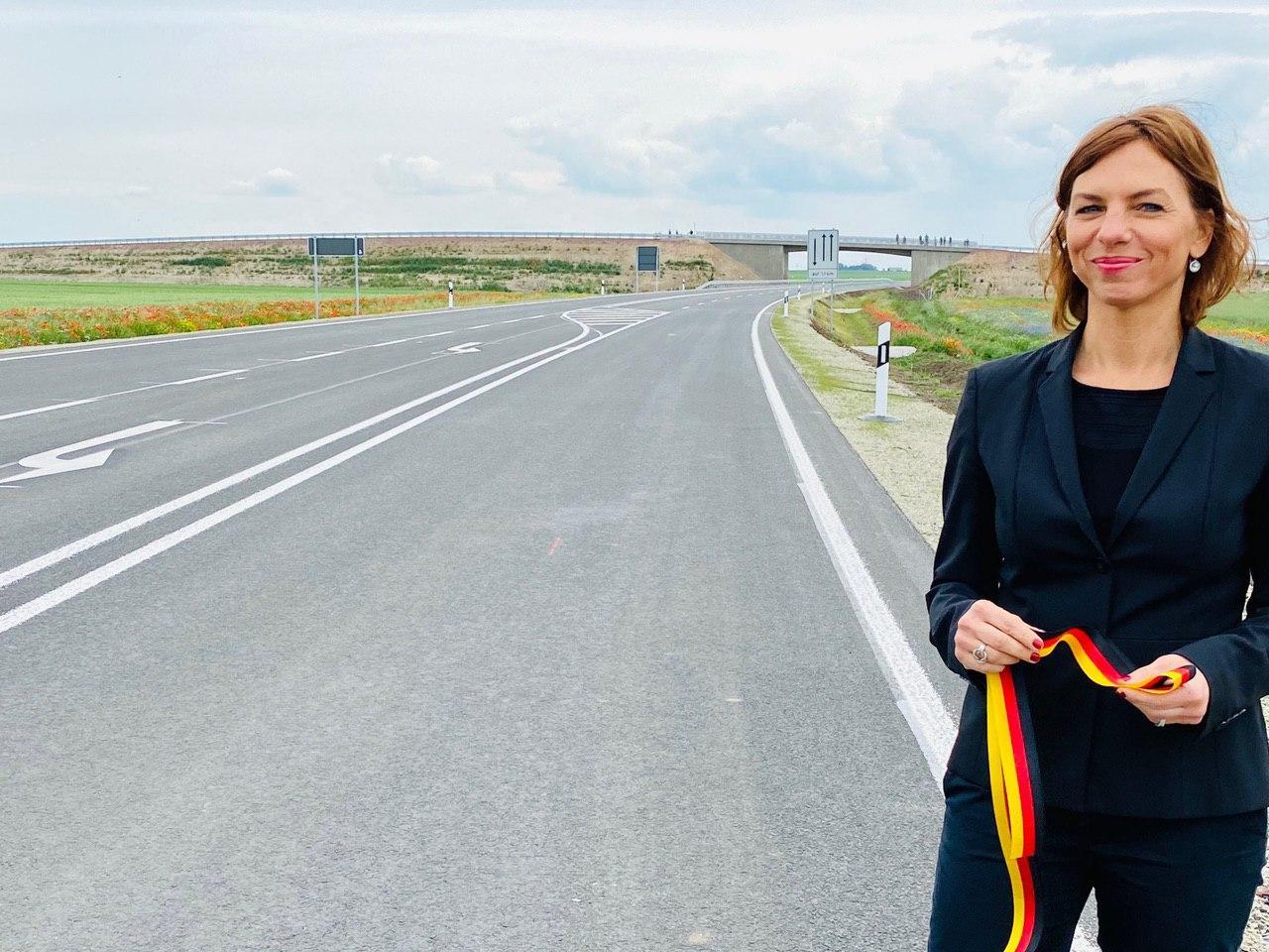 Verkehrsfreigabe in Tüttleben