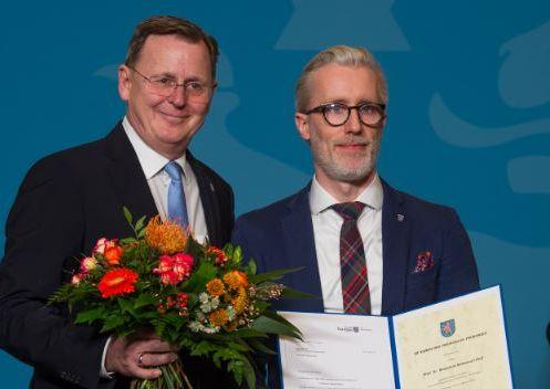 Gratulation des MP an Minister Hoff