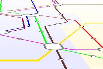 Linienkarte Streckennetz