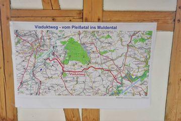 Plan des Viaduktwegs