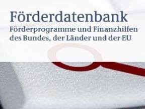 Logo Förderdatenbank Bund