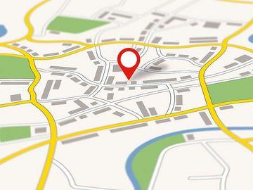 Ausschnitt - Straßenkarte