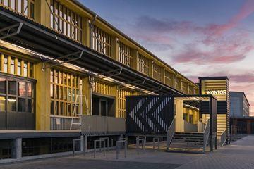 Außenansicht - Umbau KONTOR Erfurt zu einem Zentrum der Kreativwirtschaft