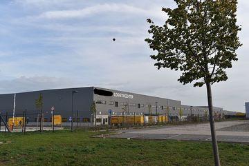 Ansicht große Industriehalle