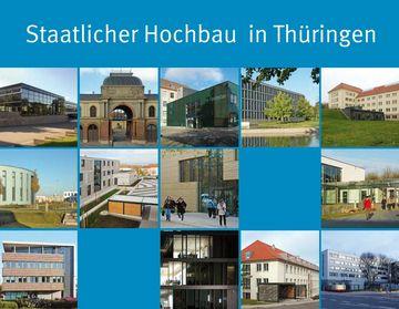 Cover der Broschüre Staatlicher Hochbau in Thüringen