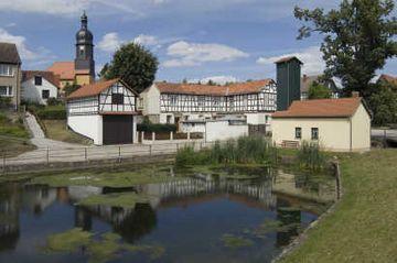 Sanierter Ortskern von Mörsdorf (Foto: Falko Behr)