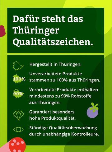 Dafür steht das Thüringer Qualitätszeichen