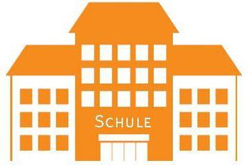 Stilisiertes Schulgebäude