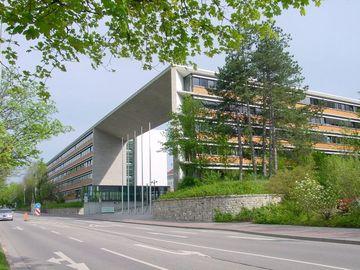 Gebäudeansicht Ministerium