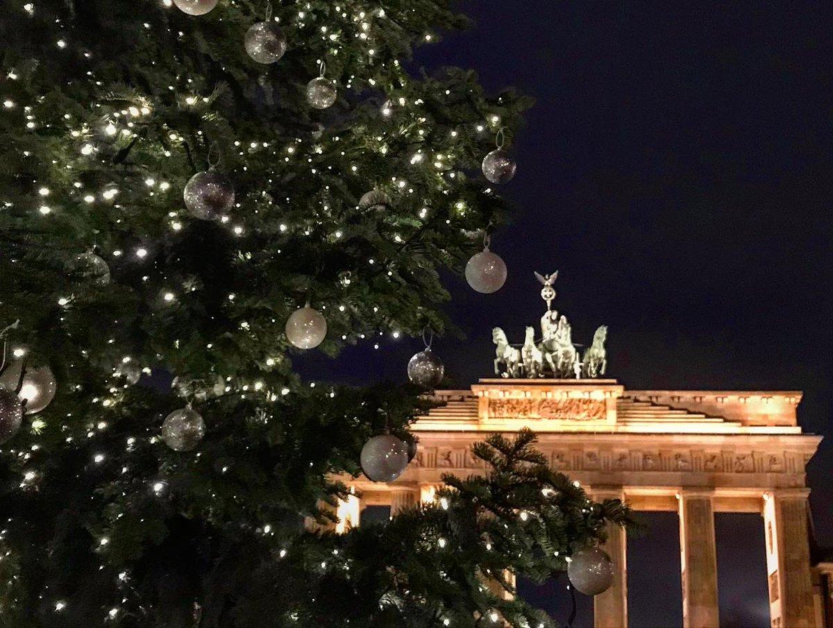Thüringer Weihnachtsbaum in Berlin 2019